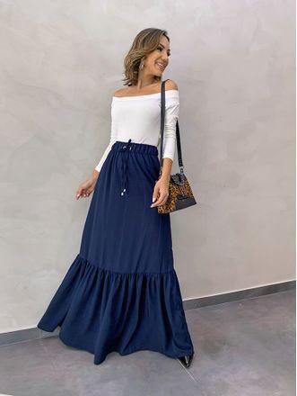 Saia-Longa-Louise-Azul