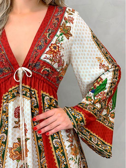 4244ea22e0 Vestido Midi Gili Farm - Estacao Store