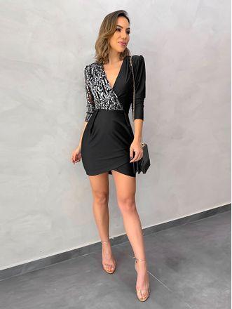 Vestido-Transpasse-Paete-Laura