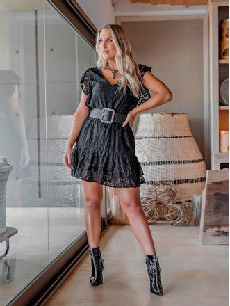 Vestido-Curto-Renda-Lorena-Preto