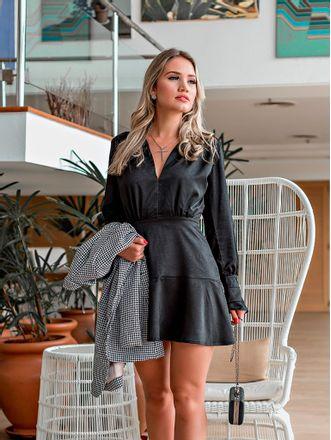 Vestido-Silky-Preto