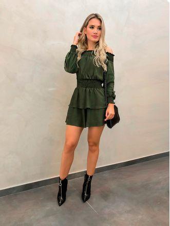 Vestido-Suede-Skinny-Verde-Militar