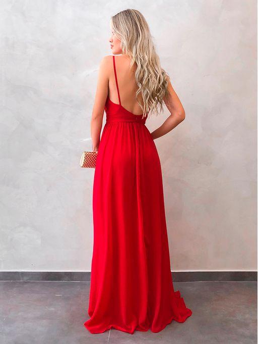 Vestido-Longo-Lilian-Vermelho