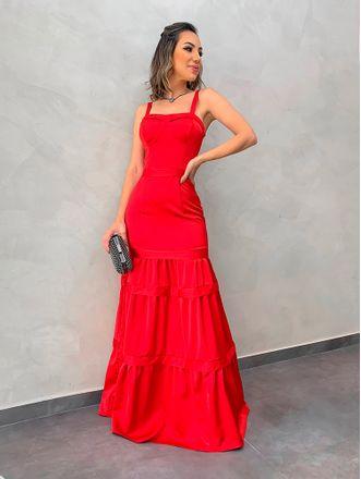 Vestido-Longo-Tais-Vermelho