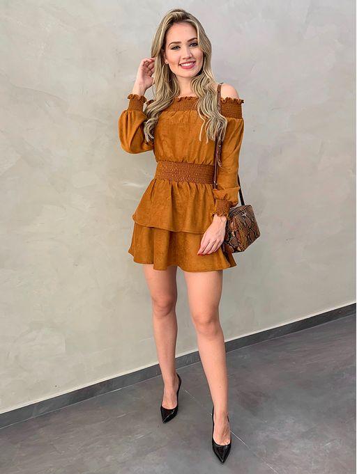 Vestido-Suede-Skinny-Mostarda