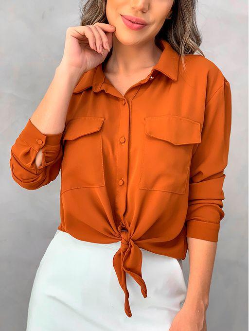 Camisa-Crepe-Portella-Marrom