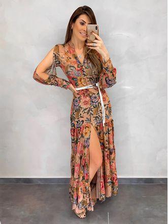 Vestido-Longo-Tule-Floral-Cordao