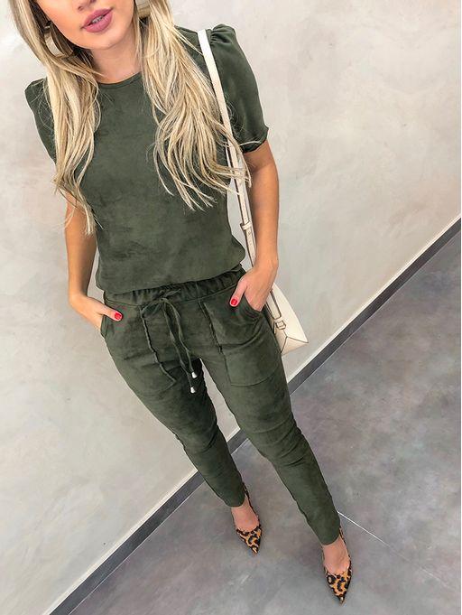 Calca-Suede-Skinny-Verde-Militar