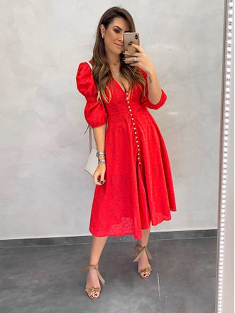 Vestido-Laise-Romantic-Vermelho