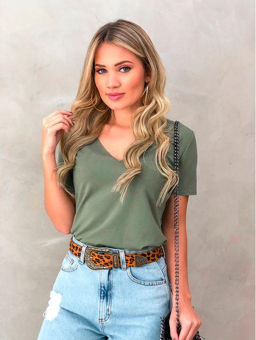T-shirt-Moletin-Verde