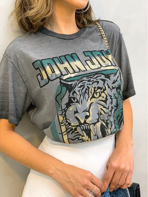 T-shirt-Blue-Tiger-John-John