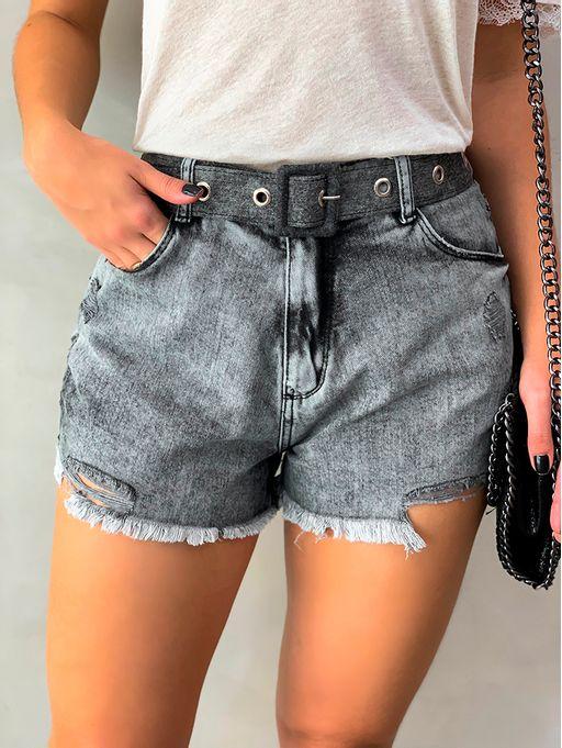 Shorts-Alto-Destroyed-Black-Marmorizado-