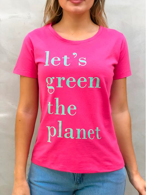 T-shirt-Planet-Pink