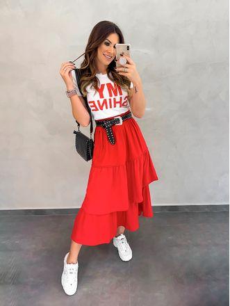 T-shirt-my-Shine-Vermelha