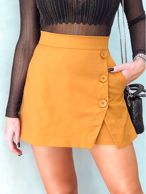 Shorts-Saia-Layla-Caramelo-