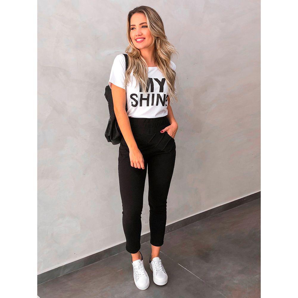 T-shirt-my-Shine-Preto-