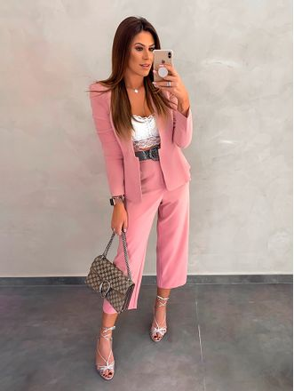 Blazer-Francieli-Rose