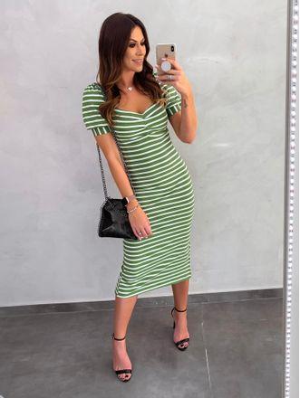 Vestido-Canelado-Jessica-Verde