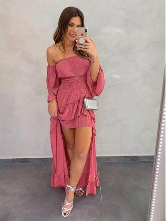 Vestido-Longo-de-Gaze-Lorena-Rosa-Velho