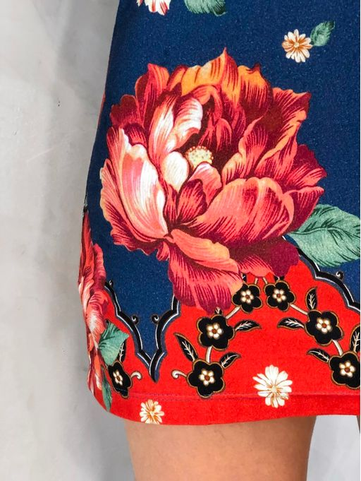 Vestido-T-shirt-Floral-Pequim-Farm