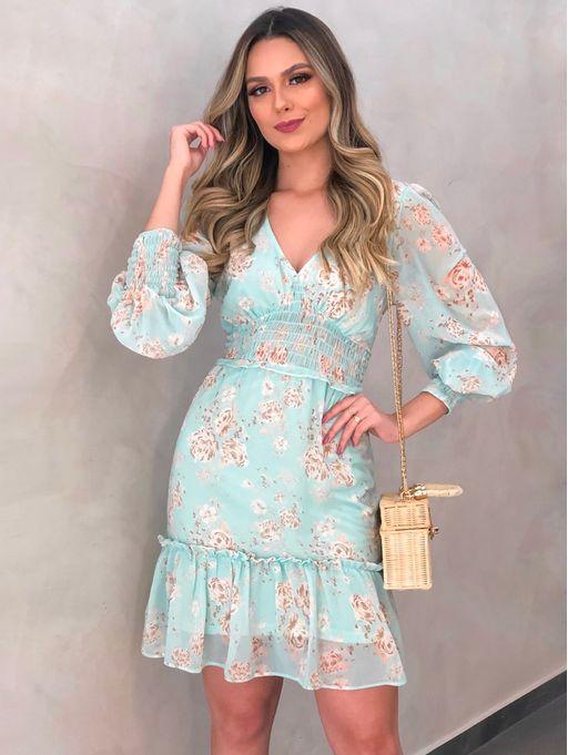 Vestido-Floral-Yasmin-Verde