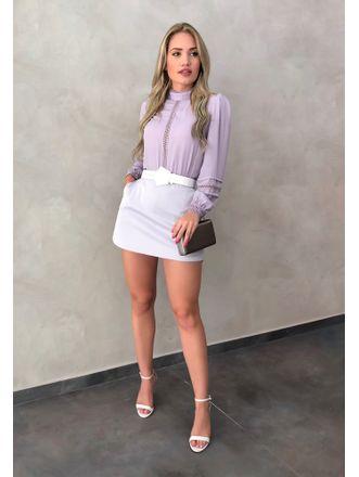 Shorts-Saia-Sarah-Lilas