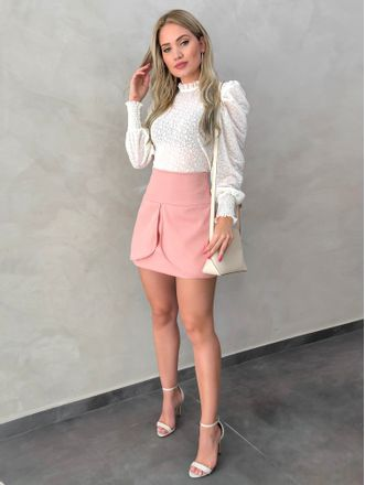 Shorts-Saia-Crepe-Leticia-Rose