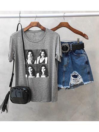 T-shirt-Girls-Mescla