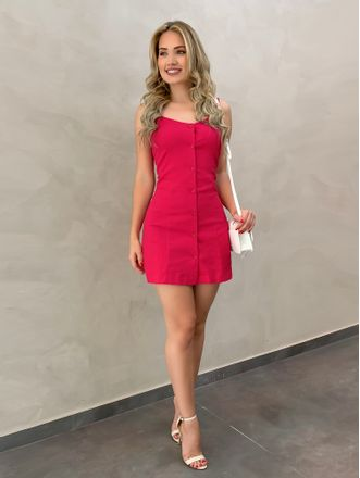 Vestido-Basico-Linho-Pink