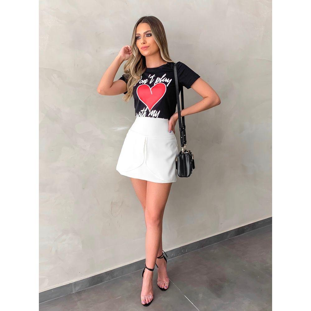 T-shirt-my-Heart-Preta