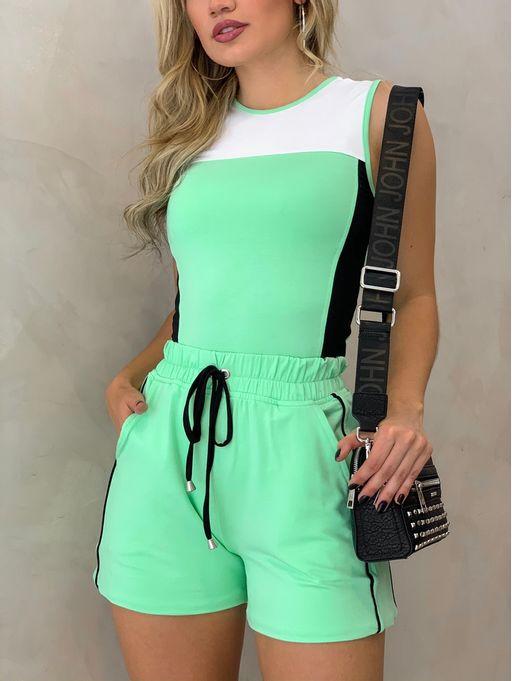 Conjunto-Regata-Shorts-Alycia-Verde-Preto-Branco