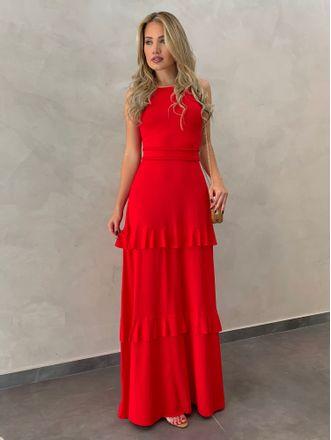 Vestido-Longo-Kamilla-Vermelho