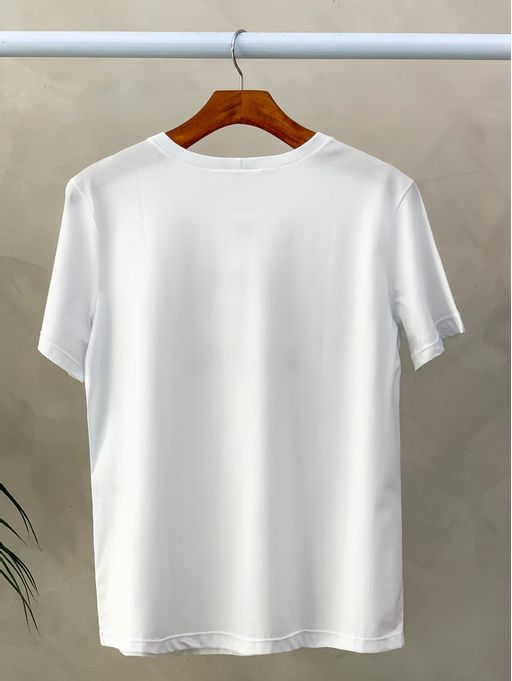 T-shirt-Simple-is-Beatiful-Off-preto
