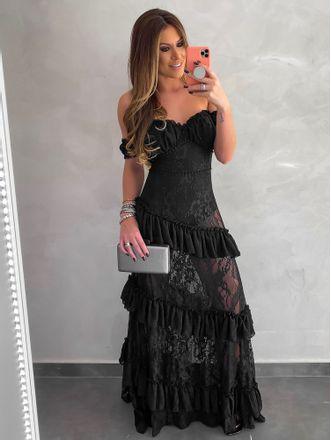 Vestido-Longo-Renda-Fatima-Preto