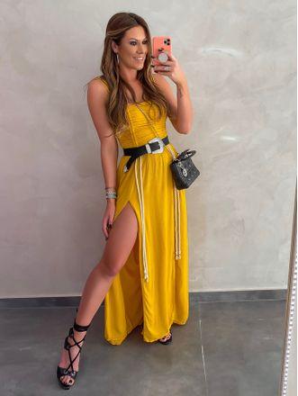 Vestido-Longo-de-Crepe-Bianca