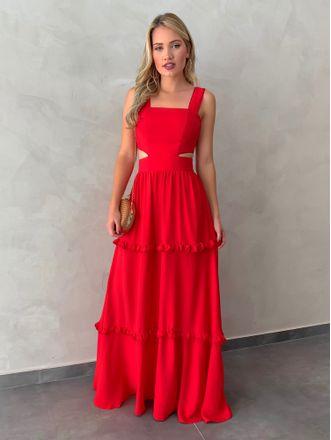 Vestido-Longo-Lessa-Vermelho