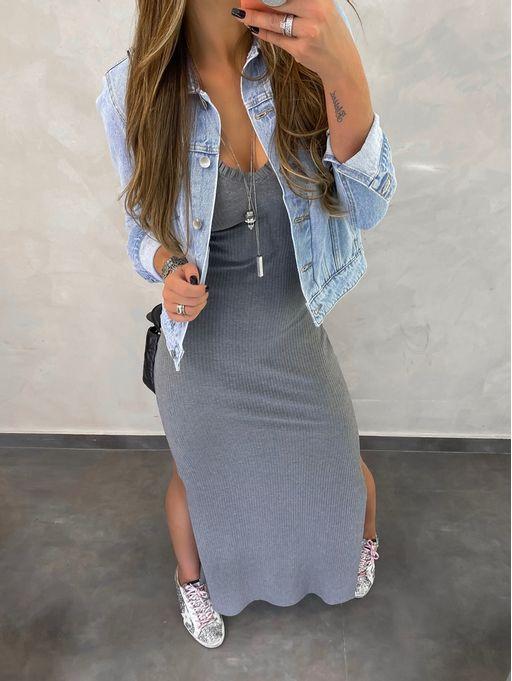 Vestido-Longo-Fru-Fru-Grafite
