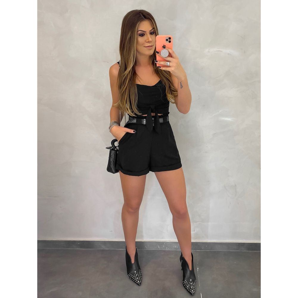 Shorts-Viviane-Black