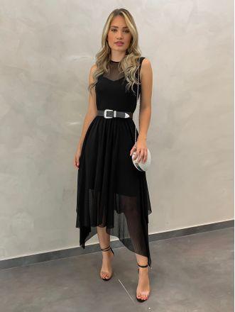 Vestido-Fran-Tule-Preto