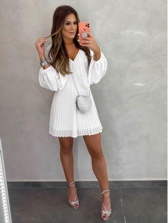 Vestido-Com-Plissado-Off-White