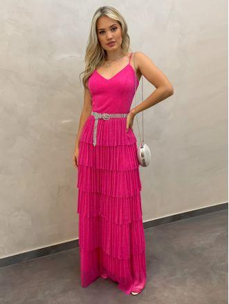 Vestido-Longo-Camadas-Pink