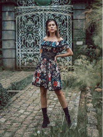 Vestido-Curto-De-Javanesa-Floral