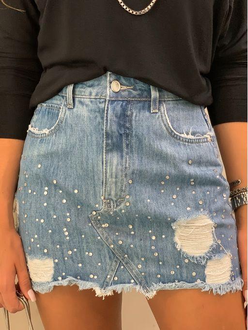 Saia-Com-Bordado-Jeans