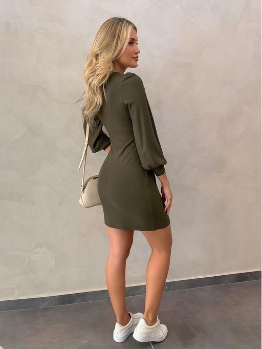 Vestido-Midi-Leila-Verde