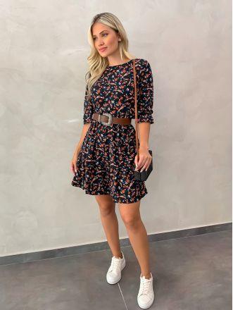 Vestido-Floral-Com-Babados-Luiza