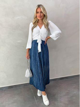Saia-Midi-Jeans-Plissada-Fernanda