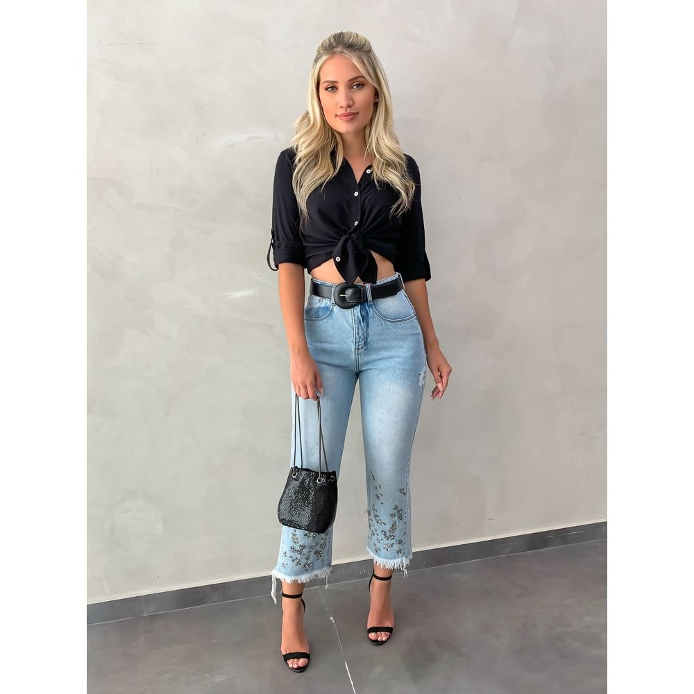 Calca-Cropped-Jeans-Bordada-Patricia