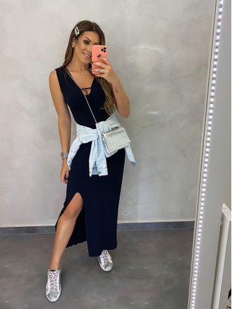 Vestido-Alcas-Franzidas-Allure-Preto