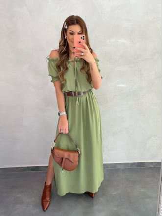 Vestido-Longo-Style-Raphaela-Verde