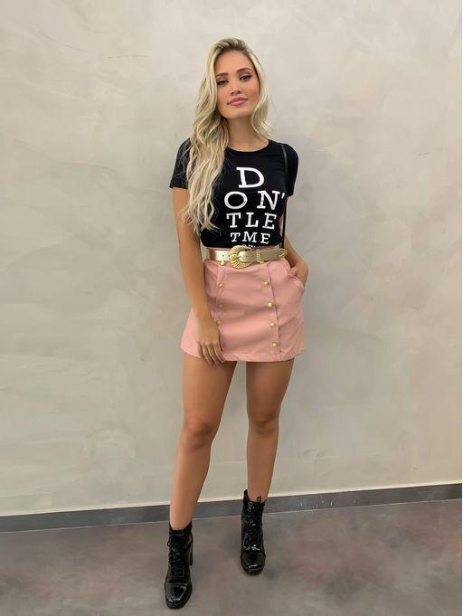 Shorts-Saia-Mili-Couro-Rosa